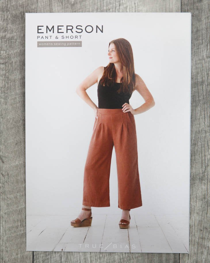 True / Bias  -  EMERSON Pant & Short Sewing Pattern