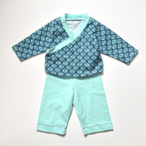 Dhurata Davies - Roo Top and Marley Bottoms (Newborn - 24 months) - Paper Sewing Pattern