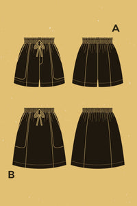 Deer & Doe - GOJI SHORTS / SKIRT Sewing Pattern