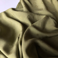 Viscose Jacquard Olive Dress Fabric