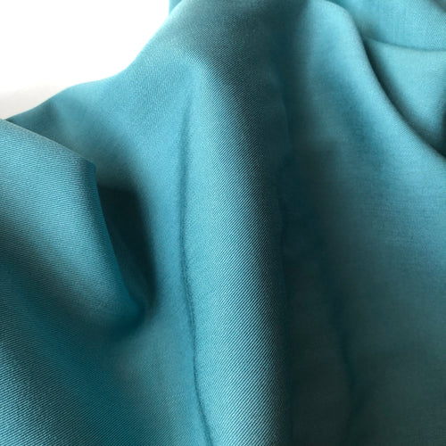 Grandeur Verdigris Modal Bamboo Tencel Twill Dress Fabric