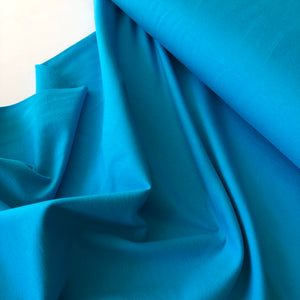 Essential Chic Turquoise Cotton Jersey Fabric