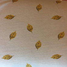 REMNANT 1.81 meters Gold Leaves French Terry Cotton