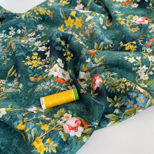 Botanist's Joy Viscose / Rayon Fabric (more due soon)