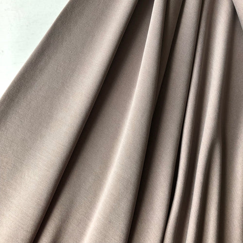 Allure Taupe Modal Knit Fabric