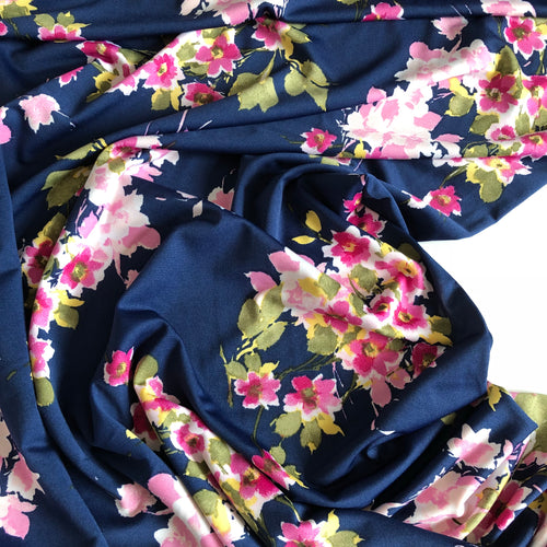 Lady McElroy - Florence Bouquet Jersey Fabric