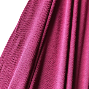 Crinkled Viscose Peony Dress Fabric