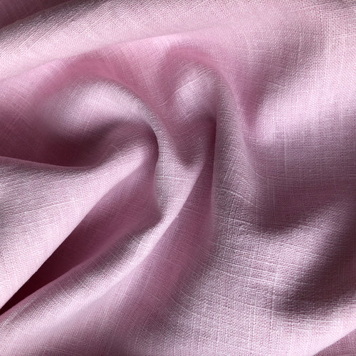 Lady McElroy Antique Washed Linen Candy Pink
