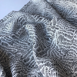 Art Gallery Fabrics - Everlasting Imprint Rayon / Viscose Dress Fabric