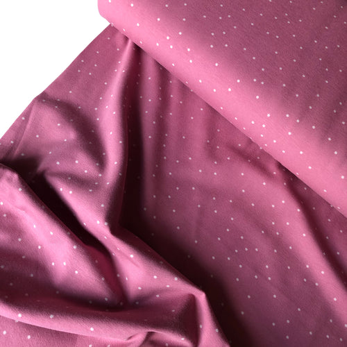 Danish Design - Pink Dots Cotton Jersey