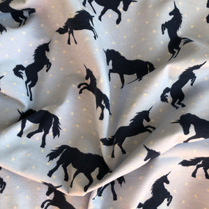 Unicorn Silhouette Cotton Jersey