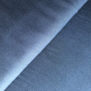 REMNANT 0.92 meter Grandeur Navy Modal Bamboo Tencel Twill Dress Fabric