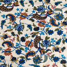 Floral Fusion French Terry Cotton