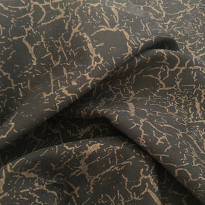 Glamour Rose Gold Viscose Ponte Roma Double Knit Fabric