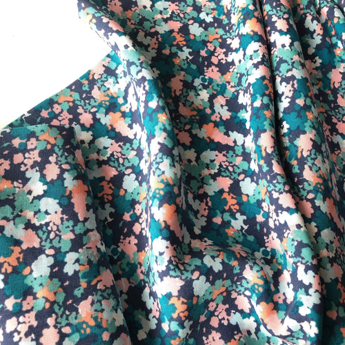 Floral Impression Rayon / Viscose Dress Fabric