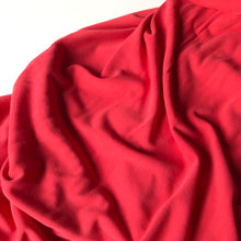 Allure Red Modal Knit Fabric