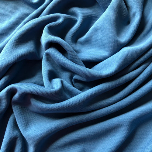 Allure Blue Modal Knit Fabric