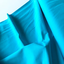 Essential Turquoise Light Cotton Spandex Jersey Fabric