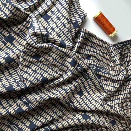 Danish Design - Mosaic Viscose Jersey