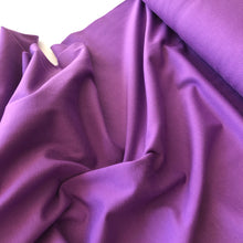 Essential Chic Purple Cotton Jersey Fabric