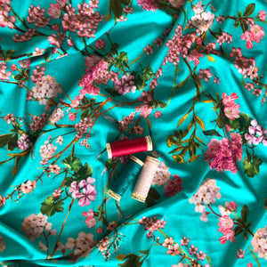 Lady McElroy - Duchess Vines Viscose Jersey Fabric