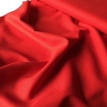 True Red Linen Viscose Blend