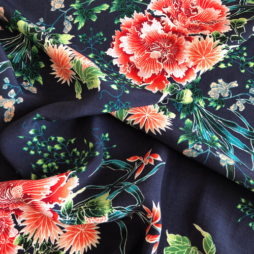 Lady McElroy - Tropical Reef Viscose Crepe