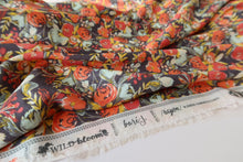 Art Gallery Fabrics - Flowerfield Sunset in Rayon / Viscose from Wild Bloom