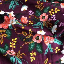 Rifle Paper Co - Birch Eggplant Rayon from Menagerie