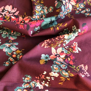 Lady McElroy - Mulberry Blooms Cotton Lawn Fabric