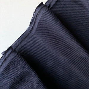 Navy Cotton Chunky Genoa Cord