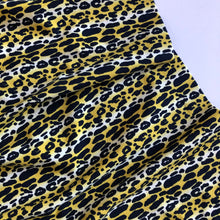 Art Gallery Fabrics - Animalia Exotica Sand Knit Fabric from Indigo and Aster collection