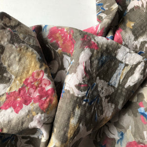 Floral Impression - Cotton Viscose Blend Dress Fabric