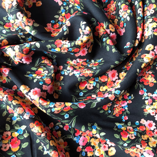 Lady McElroy - Summer Terrace Viscose Dress Fabric