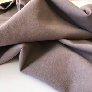 Essential Chic Smokey Mauve Cotton Jersey Fabric