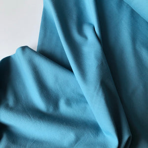 Essential Chic Sky Blue Plain Cotton Jersey Fabric