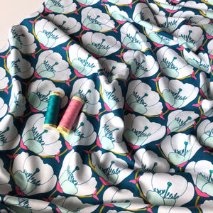 Art Gallery Fabrics - Nesting Blooms Splendid in Knit