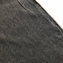 Modelo Fabrics - Cotton Chambray Graphite Black / Grey