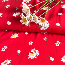 Spring Daisy Gorgette Dress Fabric