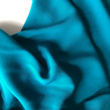 Elegance Teal Viscose Dress Fabric