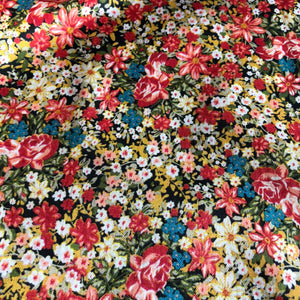 Lobellia Bloom Cotton Twill