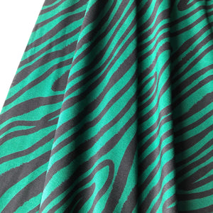 Winslet Pool Viscose Dress Fabric