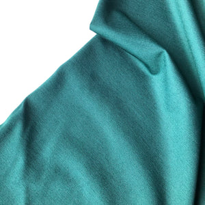 Forest Green Viscose Ponte Roma double Knit Fabric