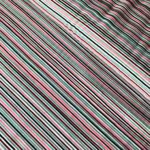 Danish Design - Rainbow Stripes Wine Cotton Jersey