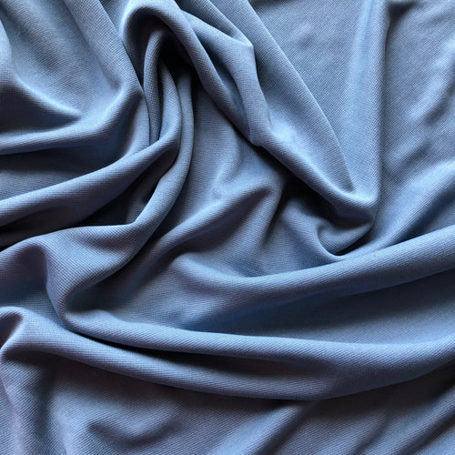 Allure Light Blue Modal Knit Fabric