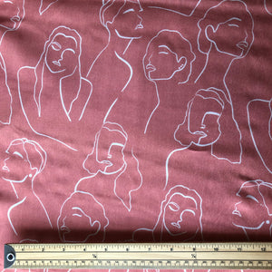 Sketching All Nations Sunset Tencel High-Twist Lawn Dress Fabric
