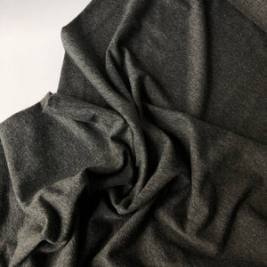 Essential Chic Melange Charcoal Jersey Fabric