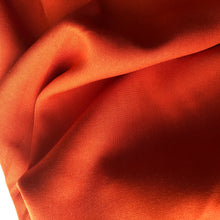 Grandeur Orange Modal Bamboo Twill Dress Fabric