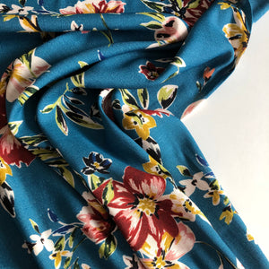 Lady McElroy - Moorside Array Viscose Crepe Dress Fabric
