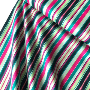 Art Gallery Fabrics - Striped Flow Rainbow Premium Cotton